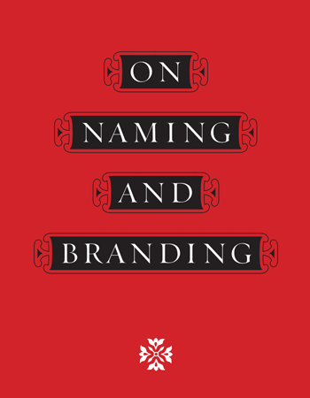 On Naming And Branding
